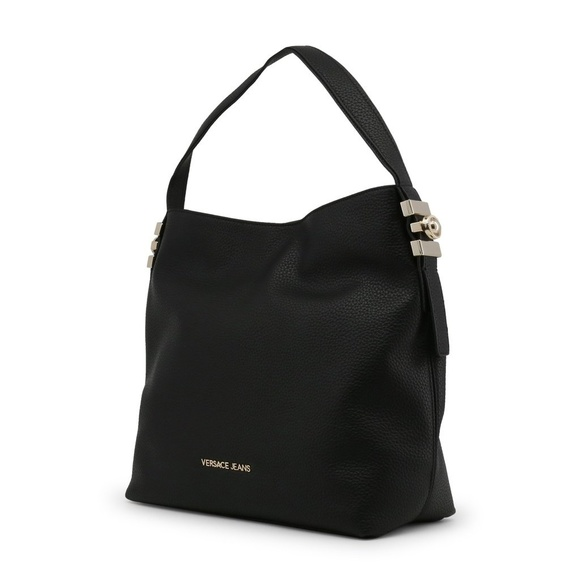 6b8b15f44d Versace Jeans Collection Bags | Versace Black Magnetic Fastening ...